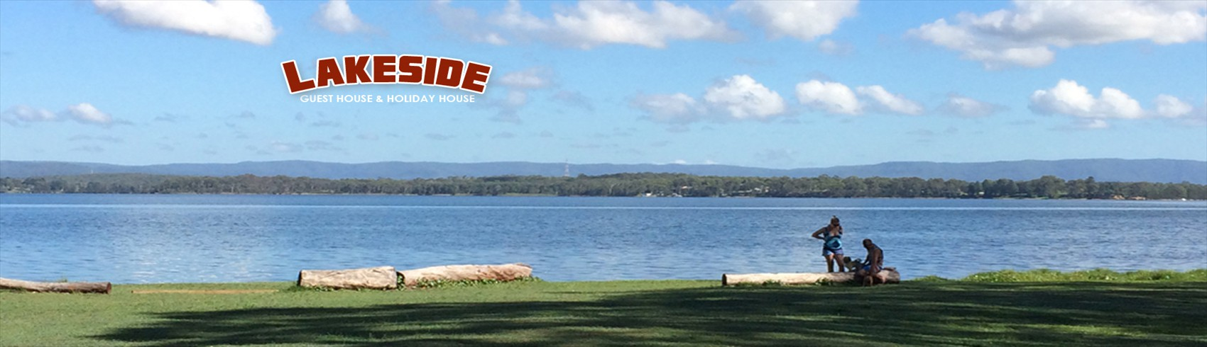 Uninterupted Water Views at The Lakeside Guesthouse & Holiday House - Lake Macquarie